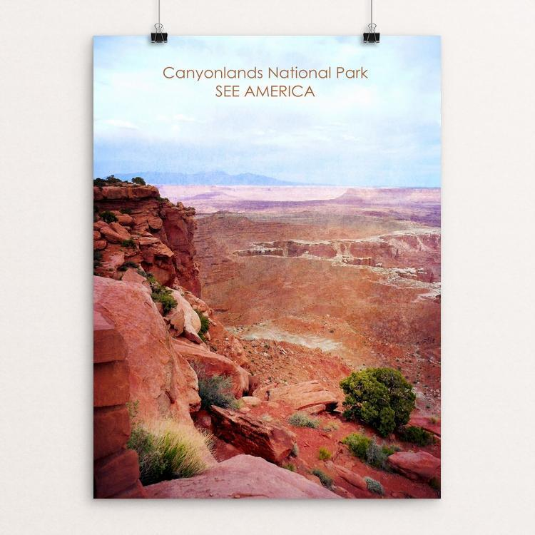 "Canyonlands National Park by Bryan Bromstrup 12"" by 16"" Print / Unframed Print See America"
