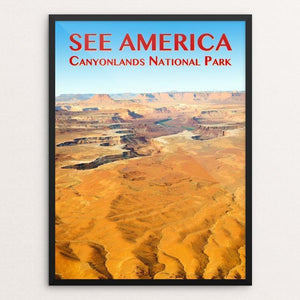 "Canyonlands National Park by Zack Frank 12"" by 16"" Print / Framed Print See America"