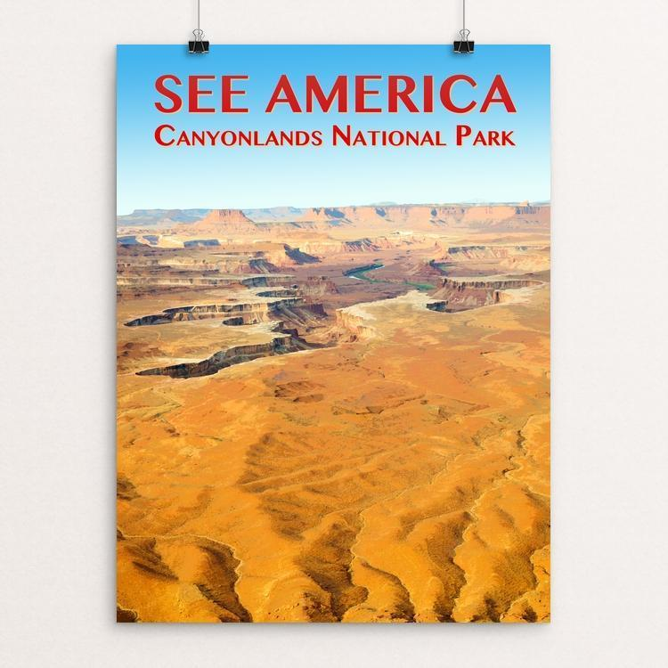 "Canyonlands National Park by Zack Frank 12"" by 16"" Print / Unframed Print See America"