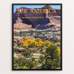 "Canyonlands National Park, Utah by Michael Burke 12"" by 16"" Print / Framed Print See America"