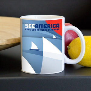 Cape Cod National Seashore Mug by Luis Prado 11oz Mug See America