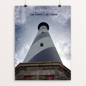 "Cape Hatteras Light Station 1, Cape Hatteras National Seashore by Bryan Bromstrup 12"" by 16"" Print / Unframed Print See America"