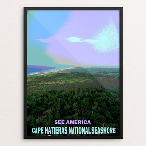 "Cape Hatteras National Seashore by Bryan Bromstrup 12"" by 16"" Print / Framed Print See America"