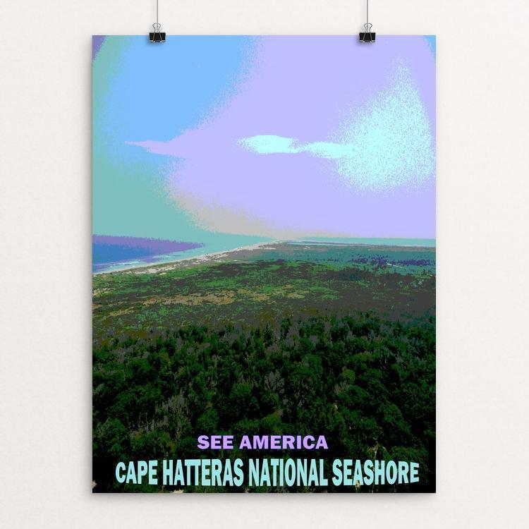 "Cape Hatteras National Seashore by Bryan Bromstrup 12"" by 16"" Print / Unframed Print See America"