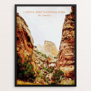 "Capitol Reef National Park by Bryan Bromstrup 12"" by 16"" Print / Framed Print See America"