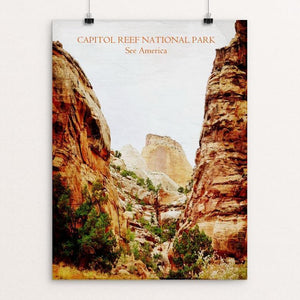 "Capitol Reef National Park by Bryan Bromstrup 12"" by 16"" Print / Unframed Print See America"