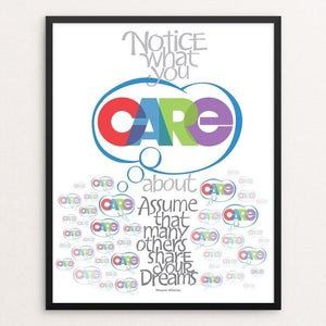 "CARE by Karl Tani 16"" by 20"" Print / Framed Print 1200 Posters"