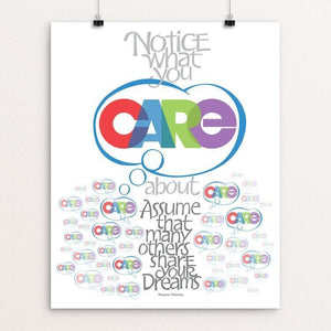 "CARE by Karl Tani 16"" by 20"" Print / Unframed Print 1200 Posters"