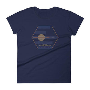 Cassini-Huygens, NASA/ESA Mission to Saturn T-Shirt by Katarina Eriksson S / Women's T-Shirt Space Horizons
