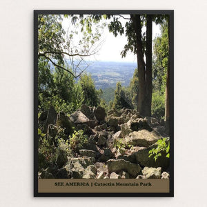 "Catoctin Mountain Park by Bryan Bromstrup 18"" by 24"" Print / Framed Print See America"