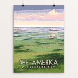 "Chesapeake Bay Gateways Network 1 by Dan Gardiner 12"" by 16"" Print / Unframed Print See America"
