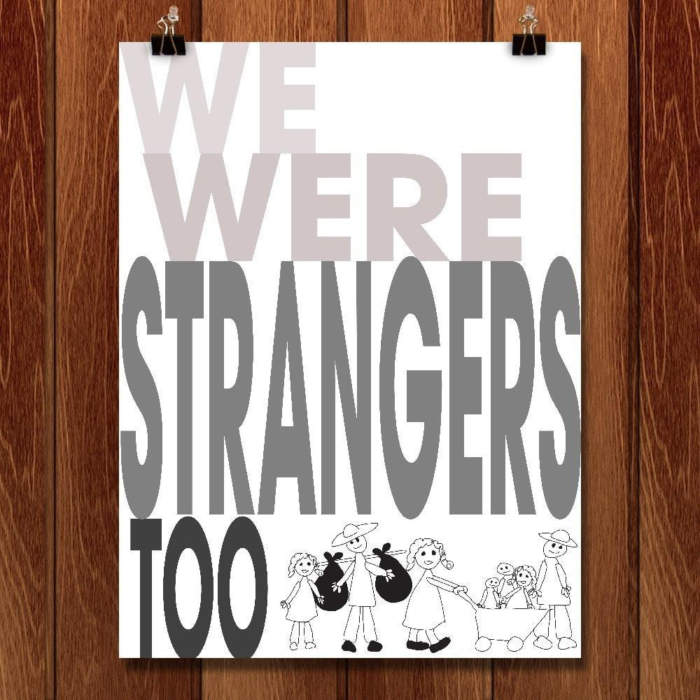 "Child's View by Lyla Paakkanen 12"" by 16"" Print / Unframed Print We Were Strangers Too"