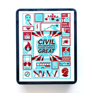 Civil Disobedience Puzzle by Michael Czerniawski 10x14 inch Puzzle What Makes America Great