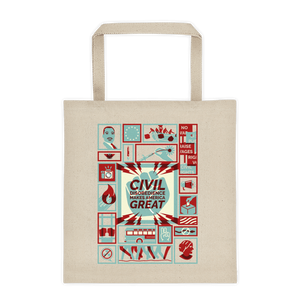 Civil Disobedience Tote Bag by Michael Czerniawski Tote Bag What Makes America Great