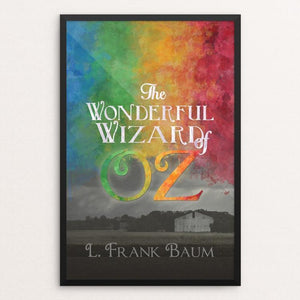 "Colors of Oz by Amy Deyerle-Smith 12"" by 18"" Print / Framed Print Recovering the Classics"