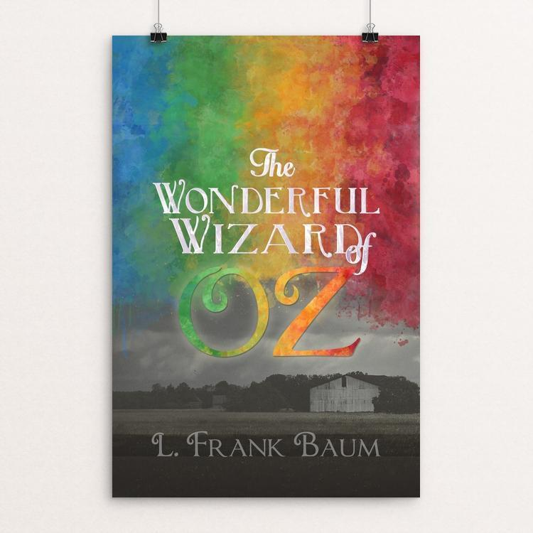 "Colors of Oz by Amy Deyerle-Smith 12"" by 18"" Print / Unframed Print Recovering the Classics"