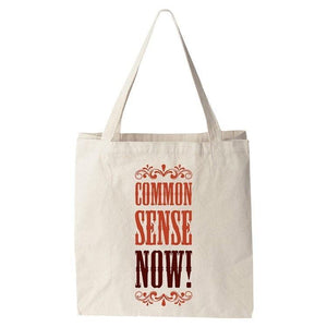 Common Sense NOW! Tote Bag by Darrell Stevens Tote Bag The Gun Show