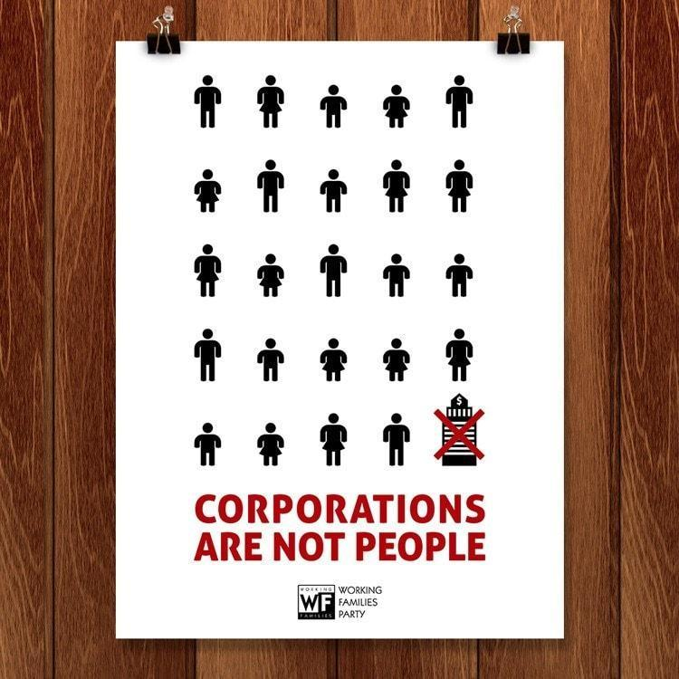 Corporations Are Not People by Shane Henderson