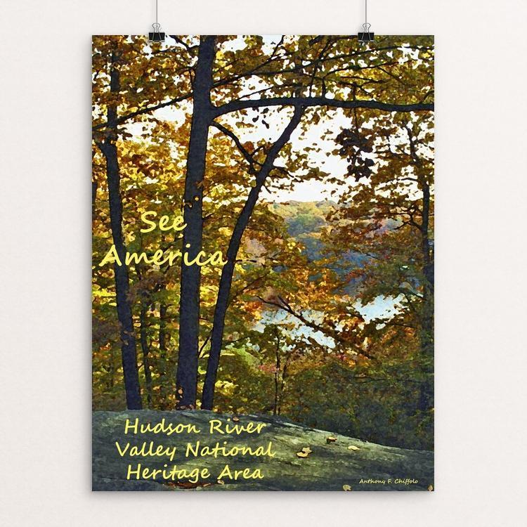 "Cranberry Lake, Hudson River Valley by Anthony Chiffolo 18"" by 24"" Print / Unframed Print See America"