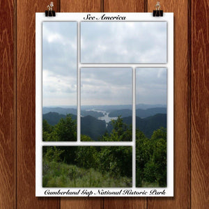 "Cumberland Gap National Historic Park by Bryan Bromstrup 12"" by 16"" Print / Unframed Print See America"