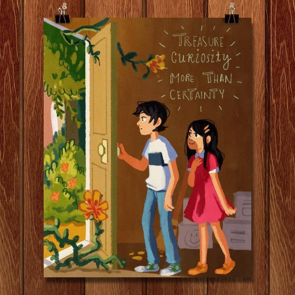 "Curiosity by Ashelle Cancio 16"" by 20"" Print / Unframed Print 1200 Posters"