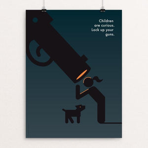"Curiosity by Luis Prado 12"" by 16"" Print / Unframed Print The Gun Show"