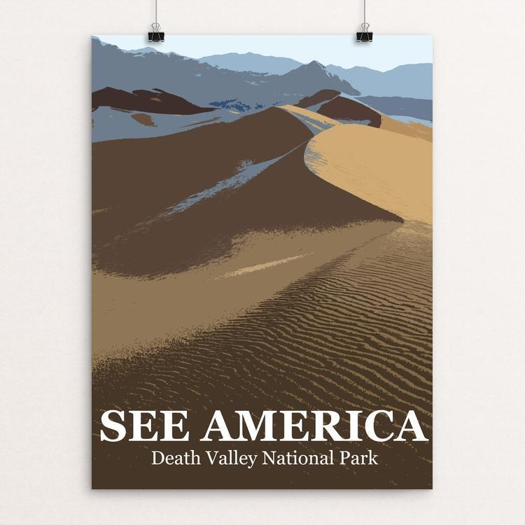 Death Valley National Park by Bill Vitiello