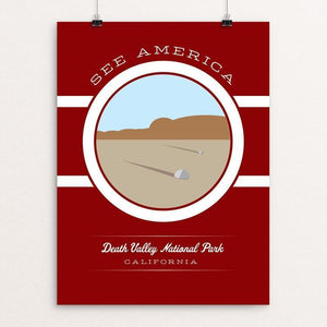 "Death Valley National Park by Brandon Kish 12"" by 16"" Print / Unframed Print See America"