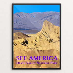 "Death Valley National Park by Zack Frank 12"" by 16"" Print / Framed Print See America"