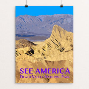 "Death Valley National Park by Zack Frank 12"" by 16"" Print / Unframed Print See America"