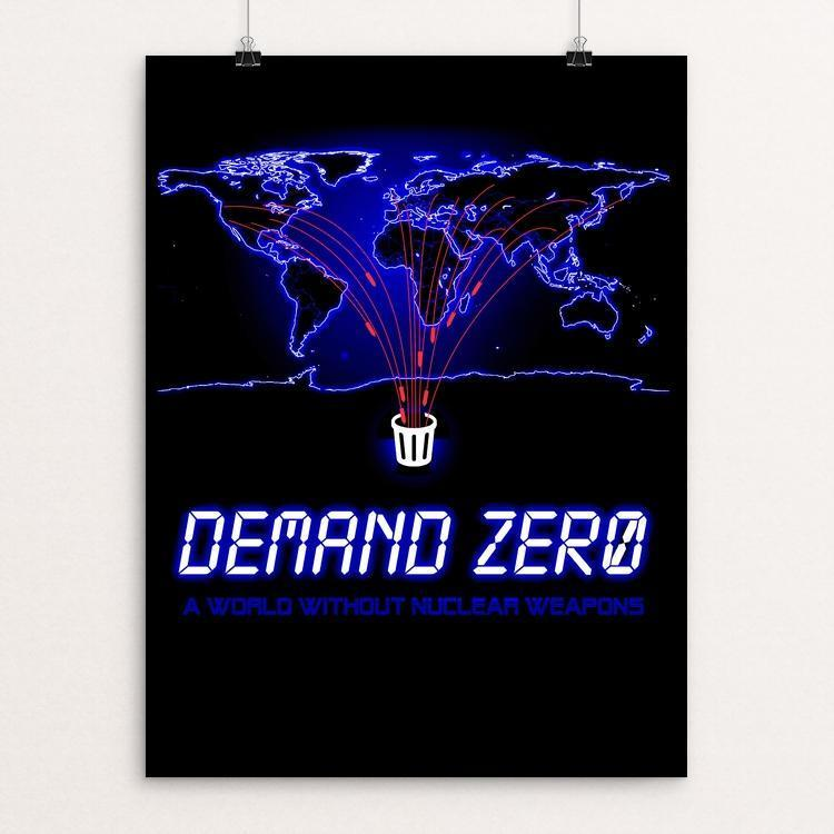"DEFCON Zero by Jordan Johnson 12"" by 16"" Print / Unframed Print Demand Zero!"