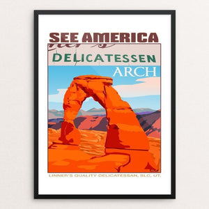 Delicate Arch, Arches National Park by Paul Heath