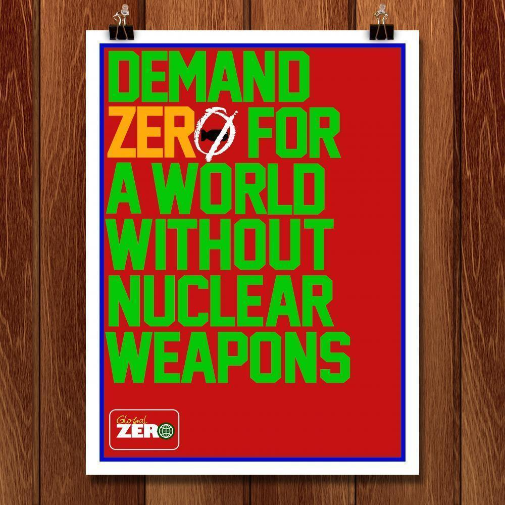 "Demand It! by Bob Rubin 18"" by 24"" Print / Unframed Print Demand Zero"