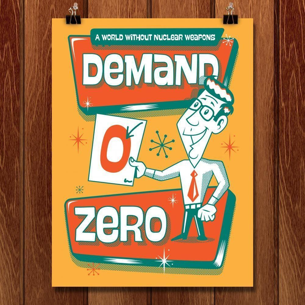 "Demand Zero 2 by Roberlan Borges 18"" by 24"" Print / Unframed Print Demand Zero"