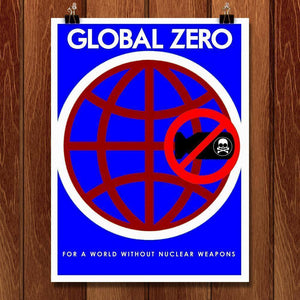 "Demand Zero  by BOB RUBIN 18"" by 24"" Print / Unframed Print Demand Zero"