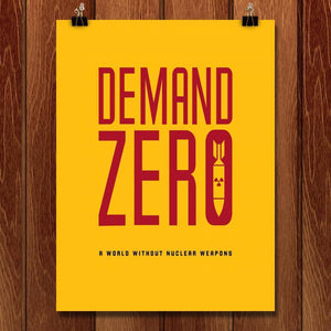 "Demand Zero by Mark Forton 18"" by 24"" Print / Unframed Print Demand Zero"