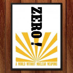 "Demand Zero by Mr. Furious 18"" by 24"" Print / Framed Print Demand Zero"