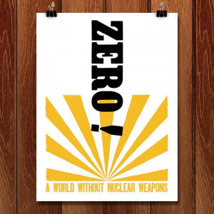 "Demand Zero by Mr. Furious 18"" by 24"" Print / Unframed Print Demand Zero"