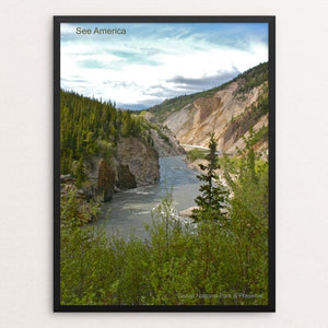 "Denali National Park and Preserve by Mac Titmus 12"" by 16"" Print / Framed Print See America"