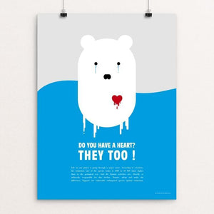 "Do You Have A Heart? They Too by Charlotte Mathijs 12"" by 16"" Print / Unframed Print Creative Action Network"