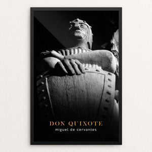 "Don Quixote by Nick Fairbank 12"" by 18"" Print / Framed Print Recovering the Classics"