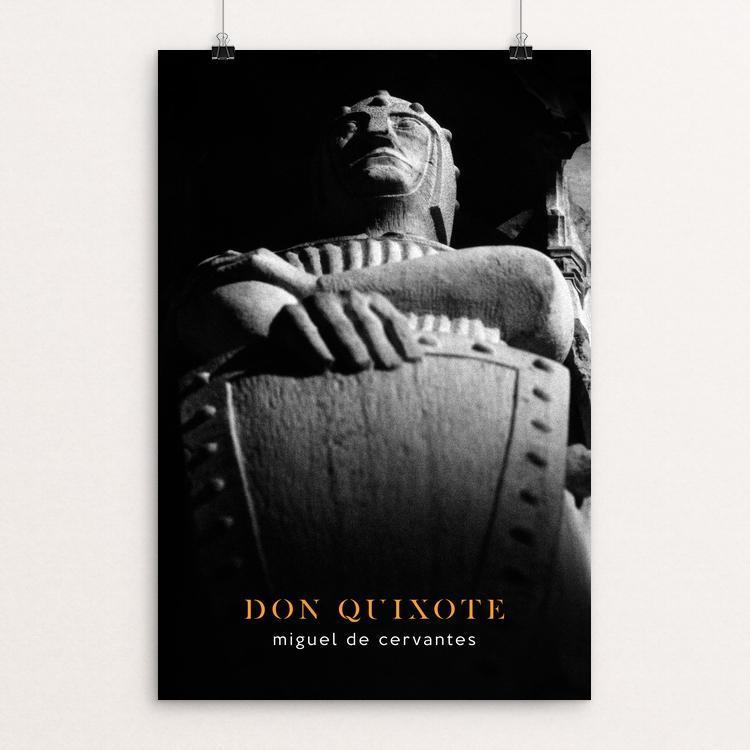 "Don Quixote by Nick Fairbank 12"" by 18"" Print / Unframed Print Recovering the Classics"