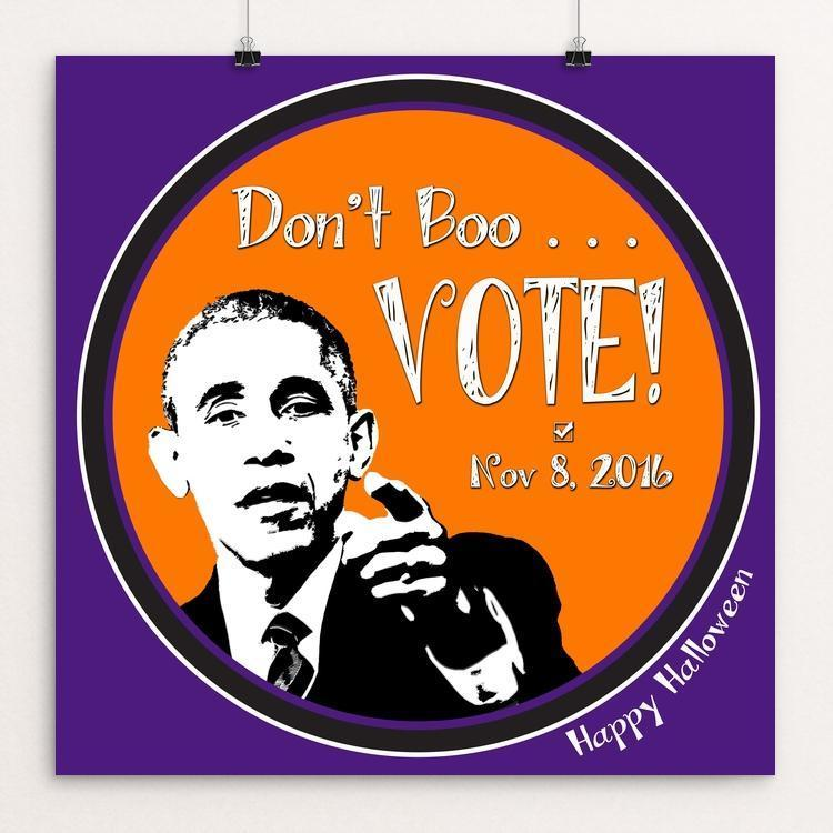 Don't Boo . . . Vote! by Robin Williams