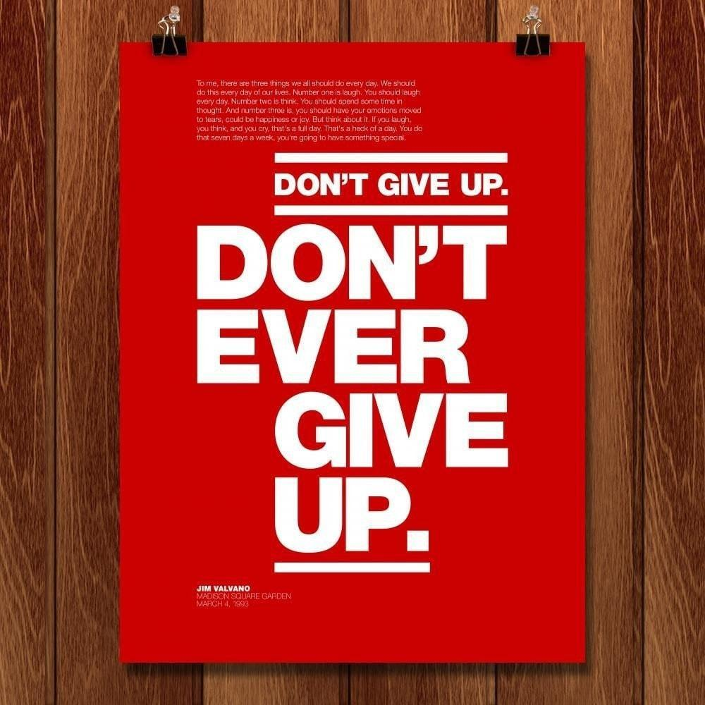 Don't Ever Give Up by Andrew Lynne