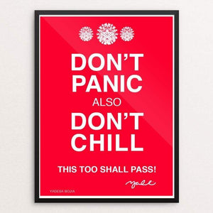 Don't Panic by Yadesa Bojia