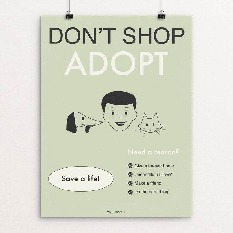 Don't Shop-Adopt II by Meredith Watson