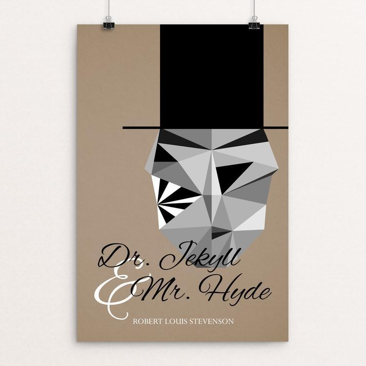 "Dr Jekyll and Mr Hyde by Hunter Ansorge 12"" by 18"" Print / Unframed Print Recovering the Classics"