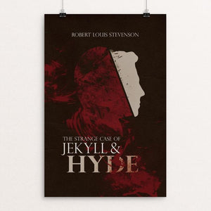 "Dr. Jekyll and Mr. Hyde by Josh Frederick 12"" by 18"" Print / Unframed Print Recovering the Classics"