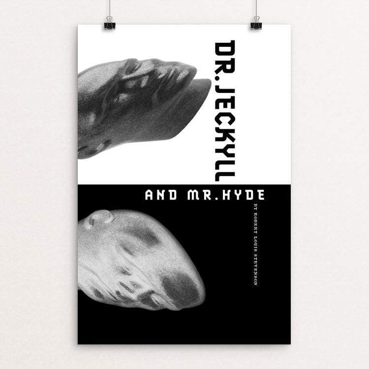 "Dr Jekyll and Mr Hyde by Vivian Chang 12"" by 18"" Print / Unframed Print Recovering the Classics"