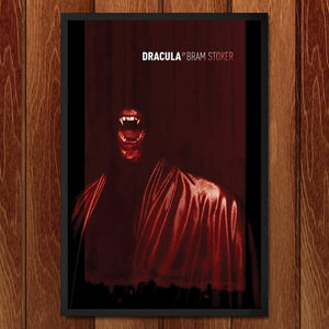 "Dracula by Brixton Doyle 12"" by 18"" Print / Framed Print Recovering the Classics"